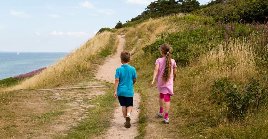 Dänemark Ferien Kinder Strand Natur Idylle