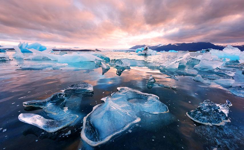 Jokulsarlon Eislagune Island