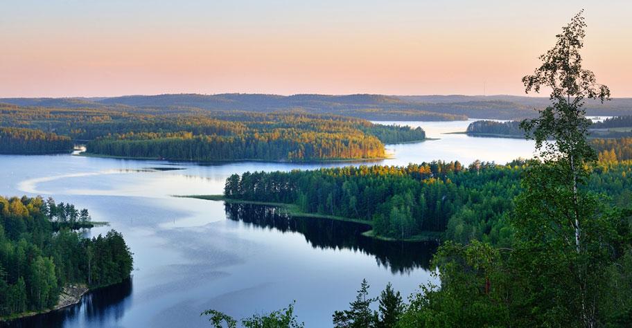 Finnland Rundreise Seenplatte Natur Schönheit