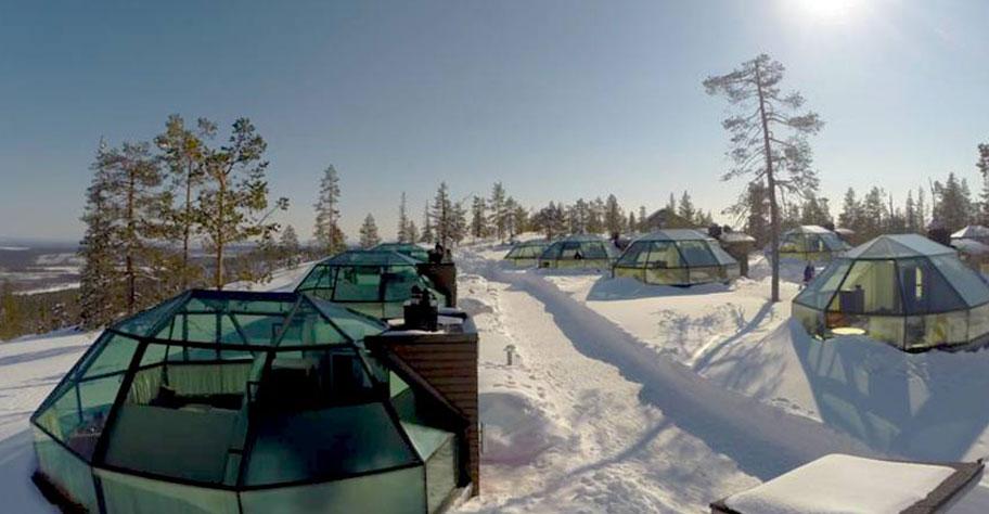 Glasiglu Levi einzigartige Hotels Lappland