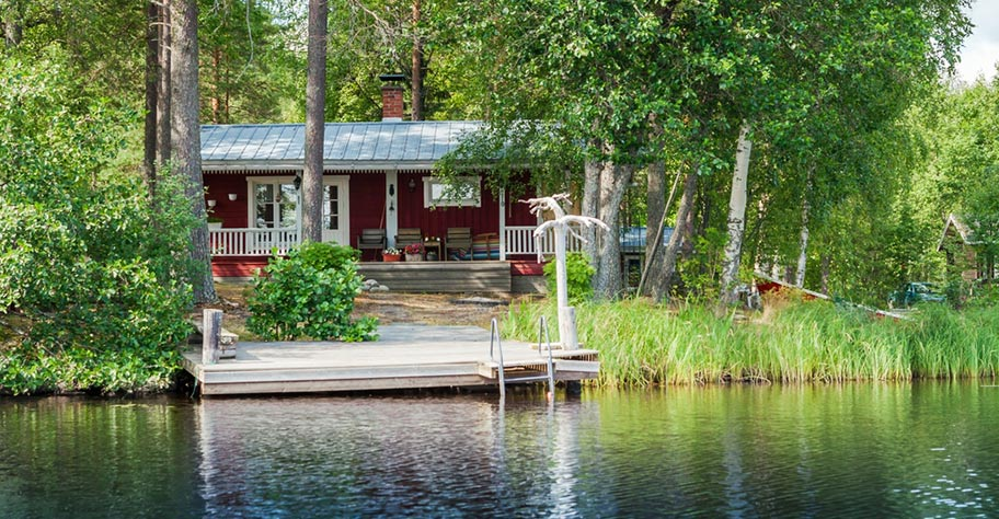 Finnland Seenplatte Hotel buchen