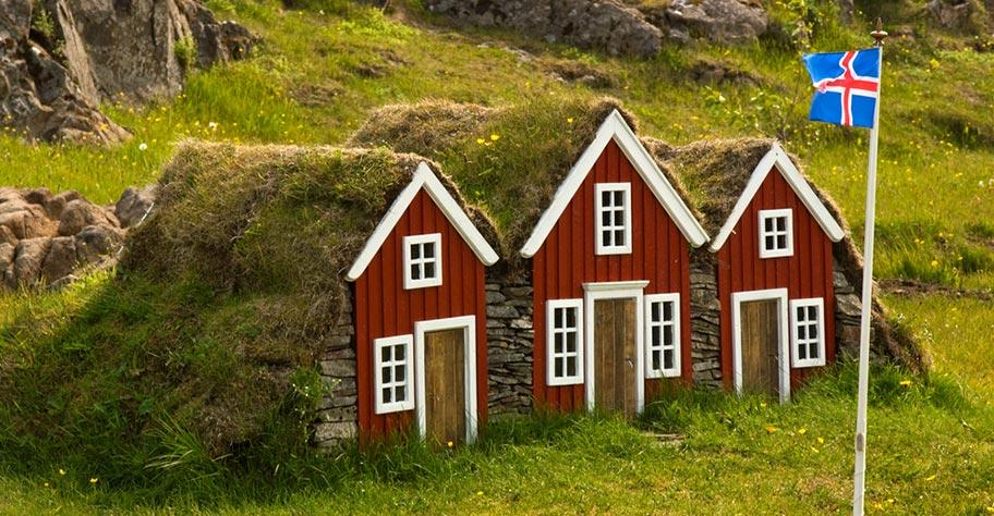 Island Blockhütte buchen günstig