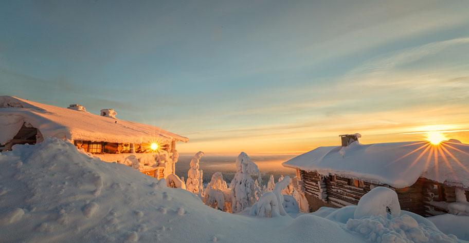 Lappland Kinder Ferien Blockhütte Empfehlung