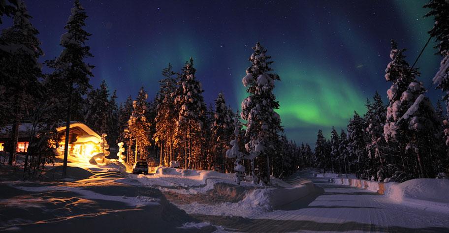 Lappland Polarlichter Reisen