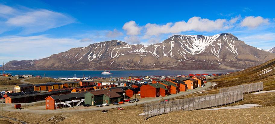 Longyearbyen Spitzbergen