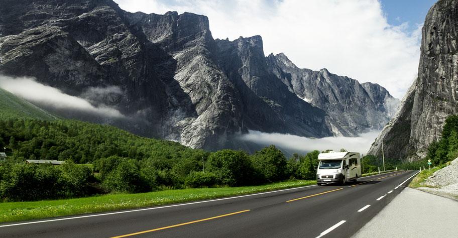 Motorhome Reise Norwegen günstig buchen