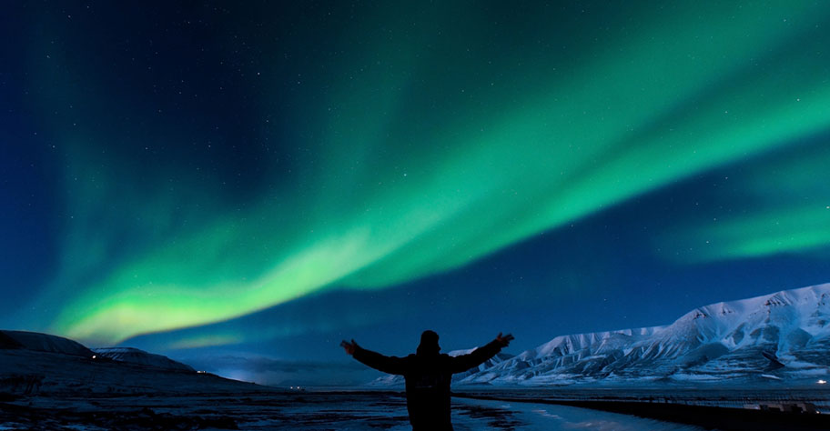 Polarlichter Norwegen