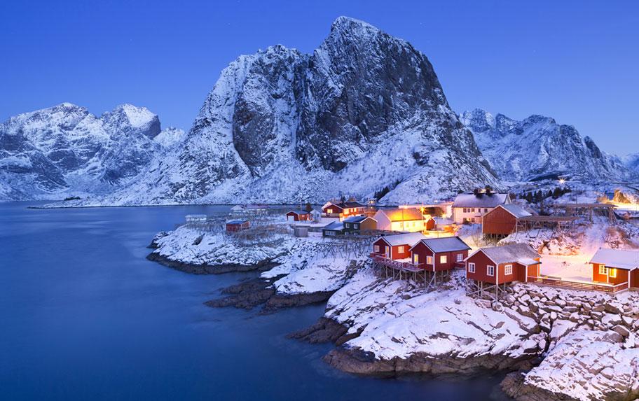 Lofoten im Winter