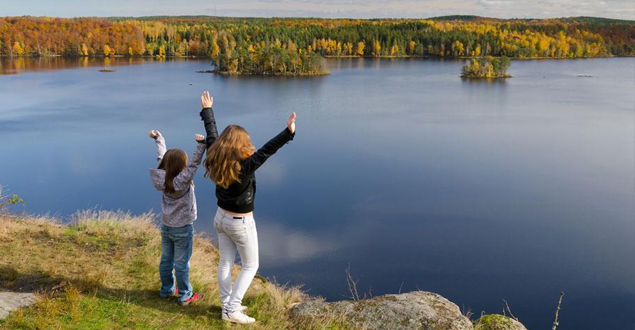 Schweden Rundreise mit Kindern See Freude Traumreise