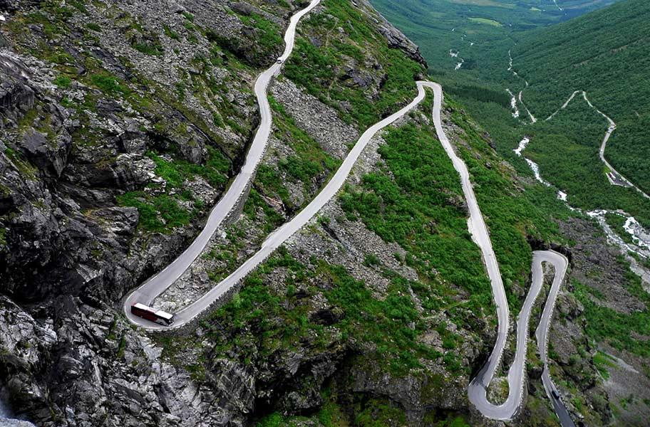 Skandinavien Rundreise im Bus Troll Trail Norwegen