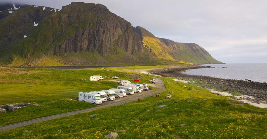 Camper Motorhome Skandinavien Lofoten Natur