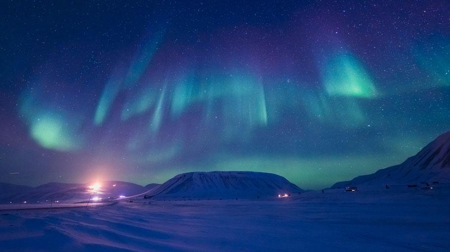 Spitzbergen Highlights Nordlichter