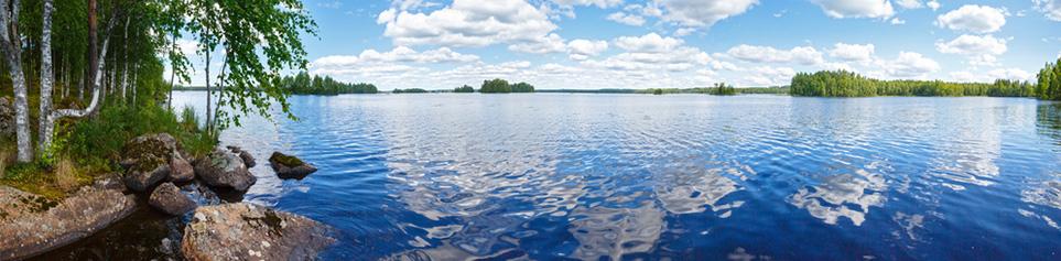 Finnland Seenplatte