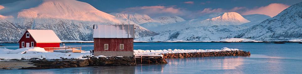 Norwegen Inseln im Norden