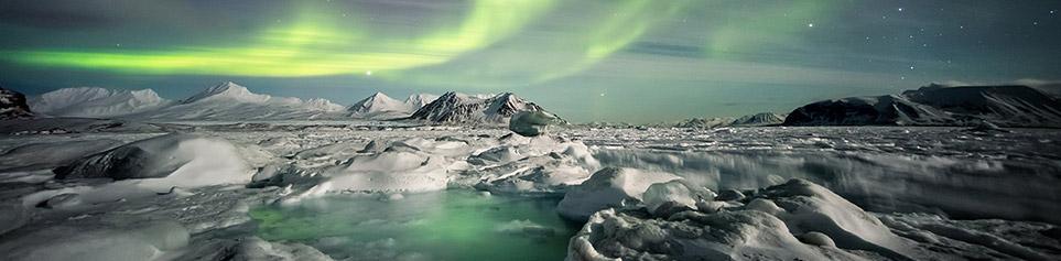 Aurora Borealis Island
